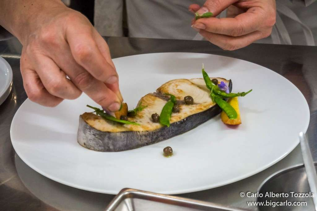 Chef Aurora Mazzucchelli ristorante Marconi