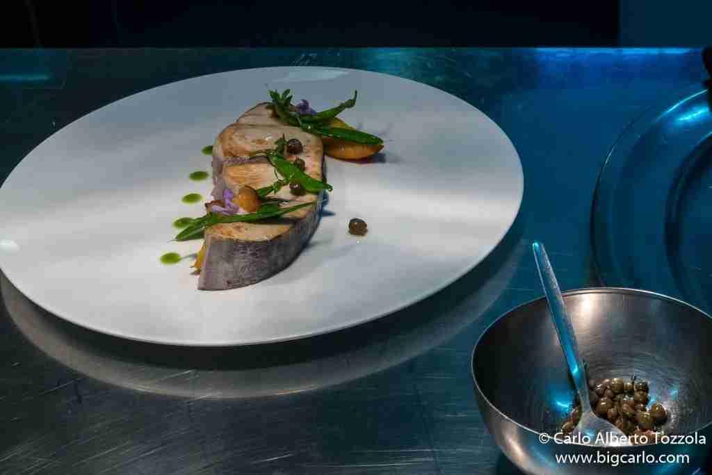 Chef Aurora Mazzucchelli piatto pronto